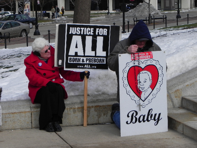 Peggy Hamill of Pro-Life Wisconsin