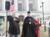 Fr. John Sasse leads the Holy Rosary