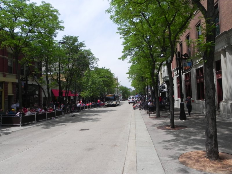 State Street 6-14-11- not too crowded