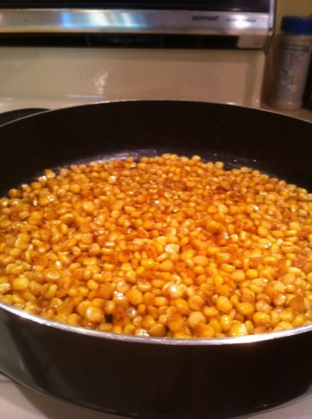 sweetened-corn-cooked-with-bacon-grease