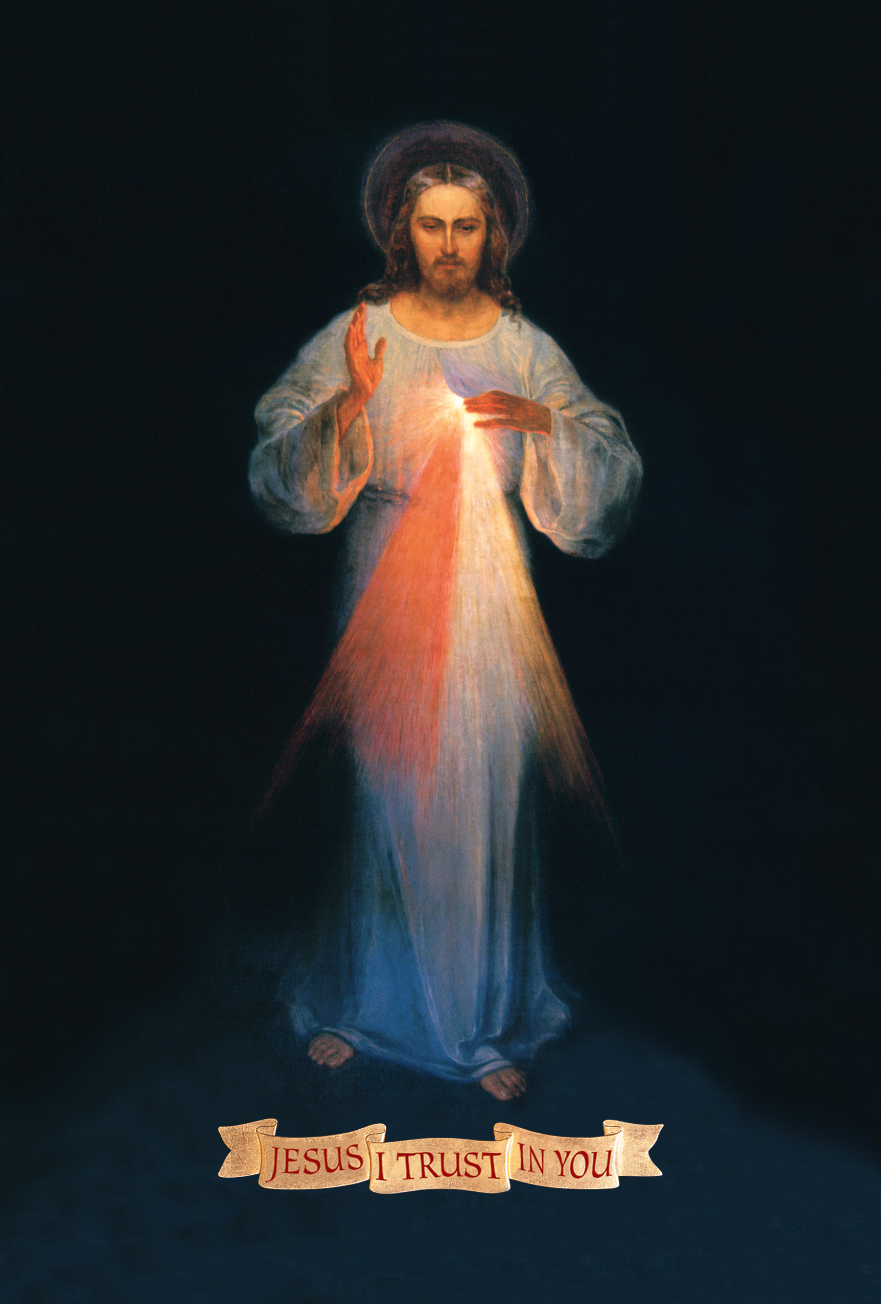 Jesus, The Divine Mercy