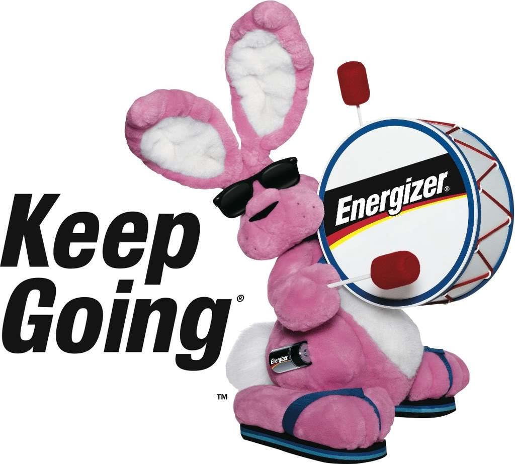 Energizer Bunny - Syte Reitz