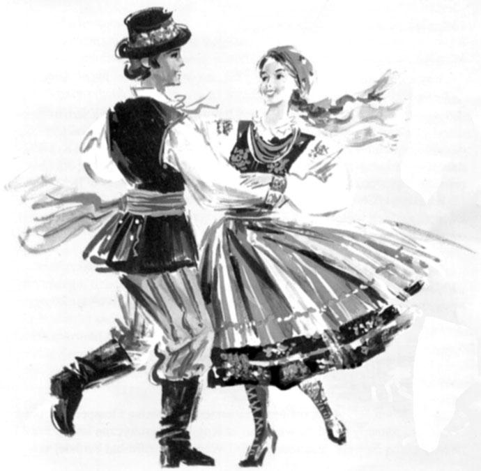 тех картинки танца мазурка рисунки профессиональная биография