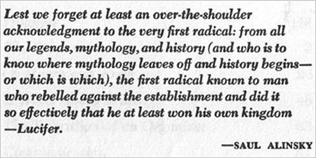 Alinsky dedication