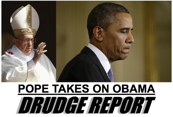 Pope Francis takes on Obama