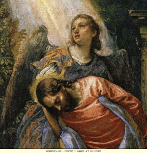 veronese58 Agony in the Garden