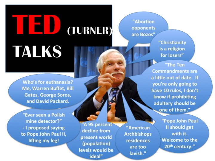 Ted Turner Talks