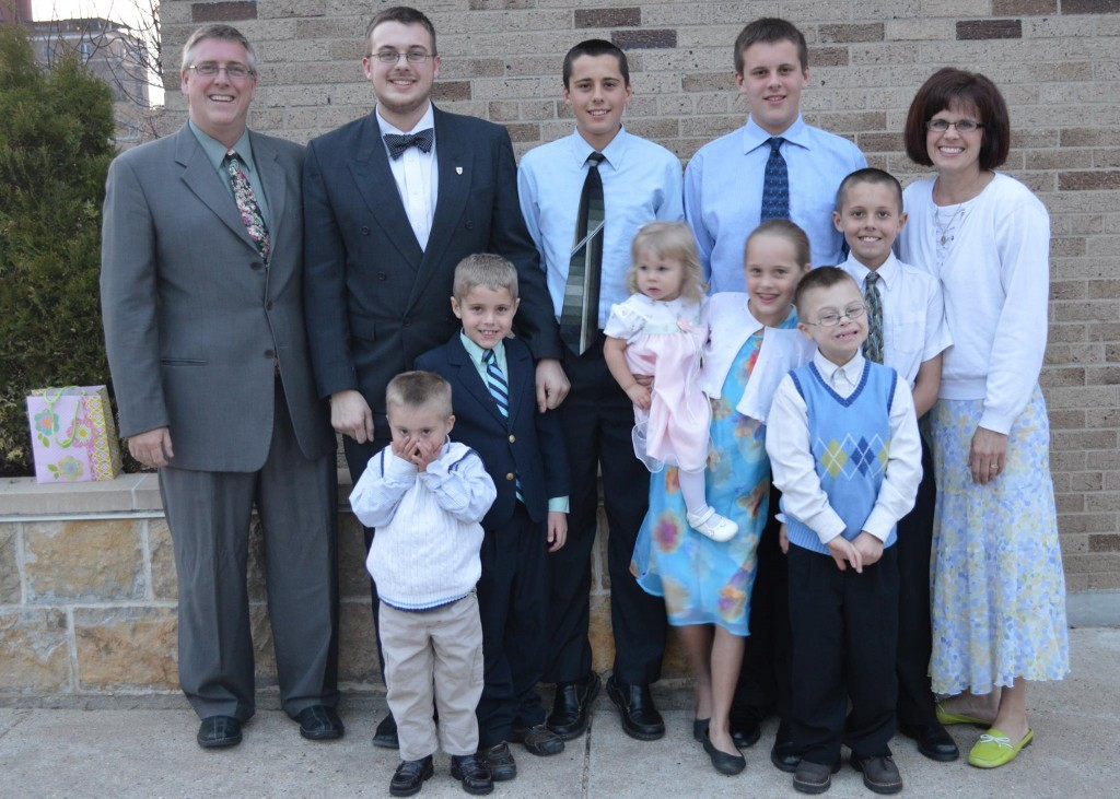 Dave & Jill & familiy
