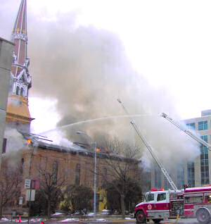 Last Days Of St Raphaels Cathedral >> Madison S Cathedral 2005 Last Bulletin Before The Fire Syte Reitz
